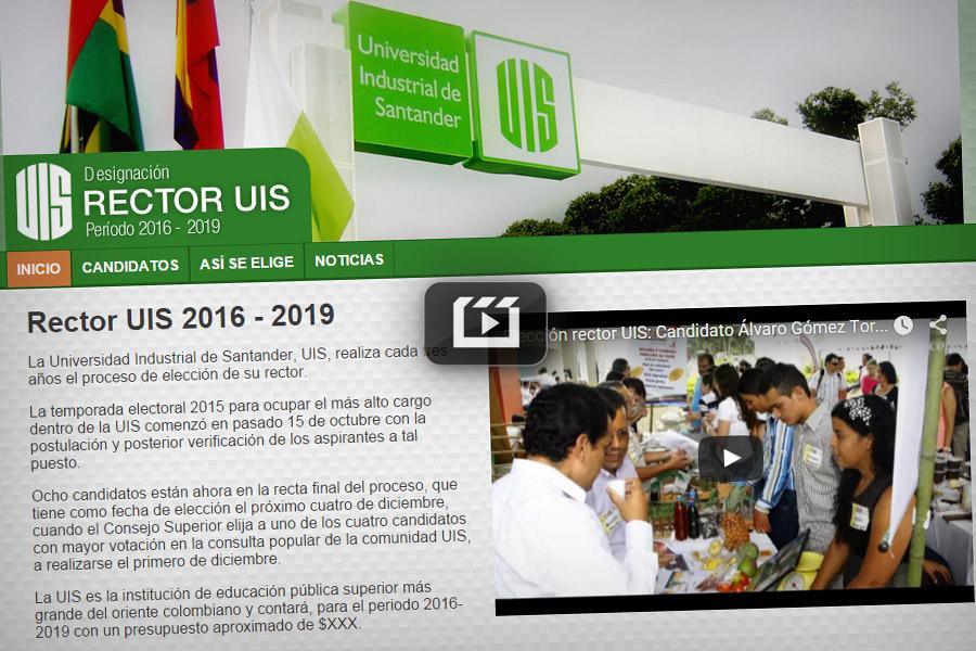 Designación del rector UIS 2016-2019