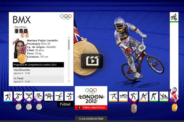 Colombianos en los Juegos Olímpicos Londres 2012