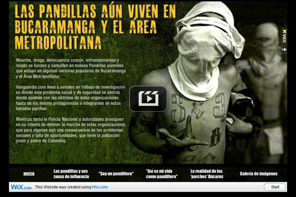 Pandillas en Bucaramanga y el Área Metropolitana