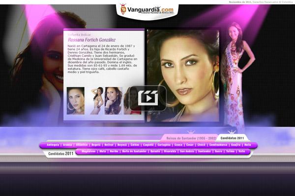Concurso nacional de belleza 2011