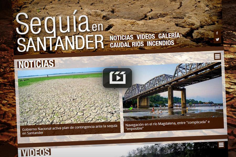 Así afecta la sequía a Santander