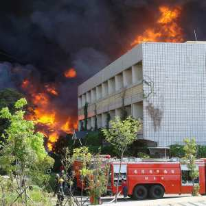 La escuela Mariscal castilla se incendia