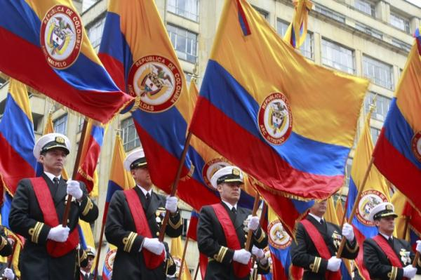 As celebr colombia 201 a os de su 39 grito de for Jardines 20 de julio bogota