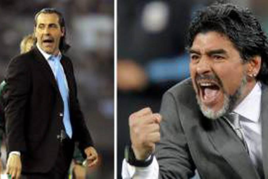Sergio Batista lleva a la Justicia su pelea con Diego Maradona