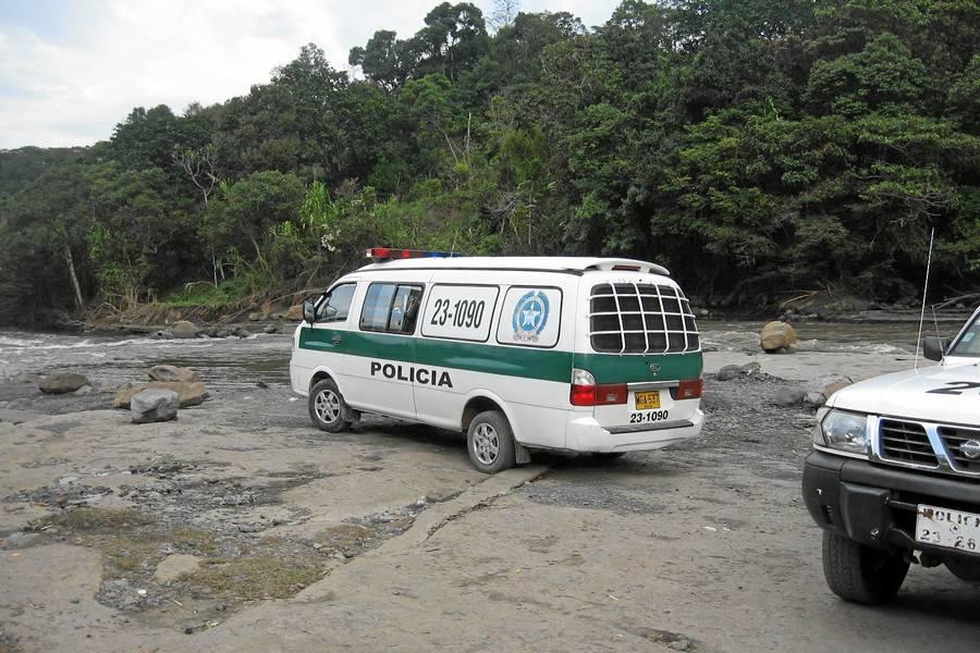Ubican cuerpo que podría ser el del Mayor de la Policía en un accidente