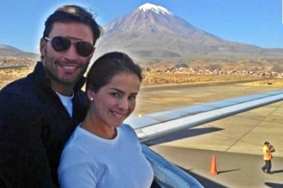 Danna García, muy romántica en Perú