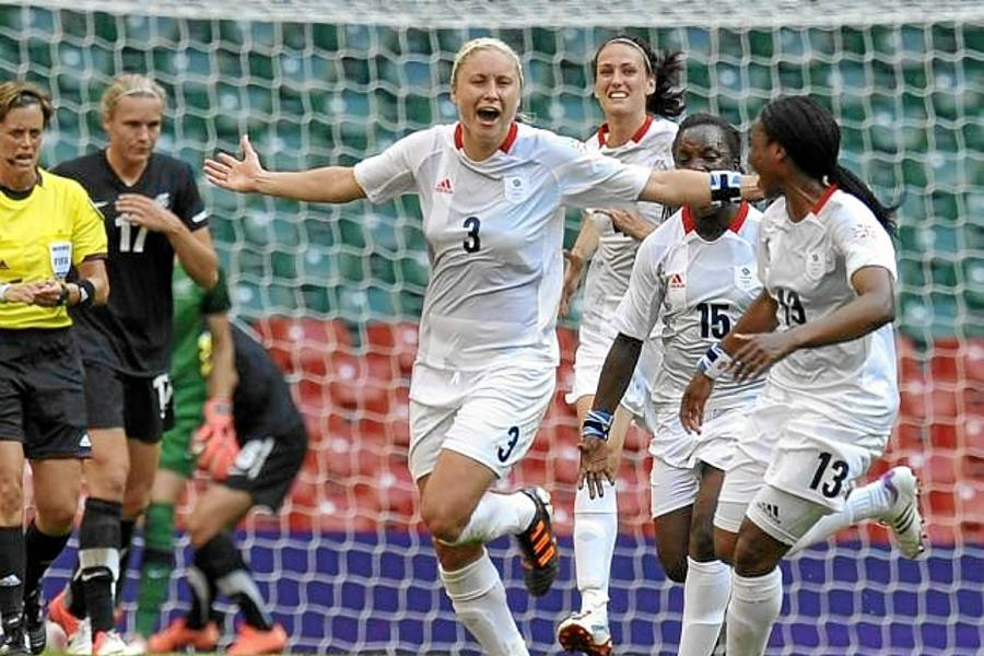 Las chicas del fútbol regalan a Gran Bretaña primer triunfo en sus Juegos