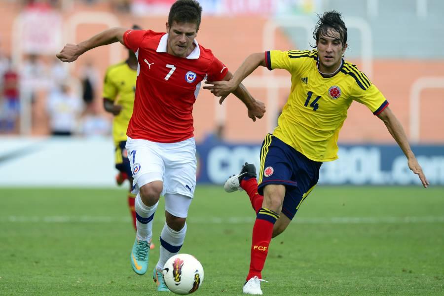 Colombia cayó 2 - 1 ante Chile en Sudamericano Sub-20