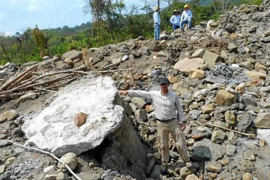 Colapsó vía sustitutiva a  Barracabermeja: SSI-CCB