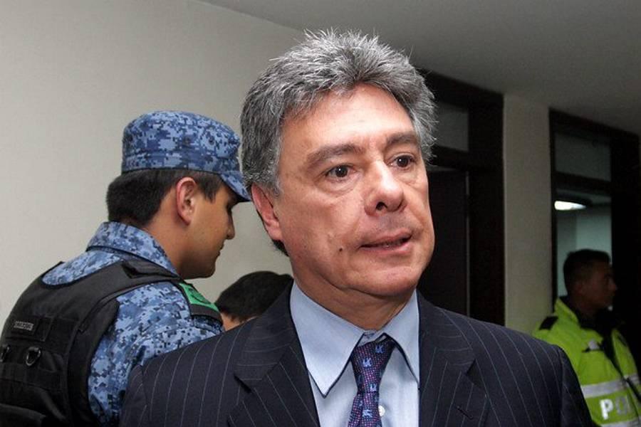 Exdirector del DNE Carlos Albornoz fue enviado a la cárcel