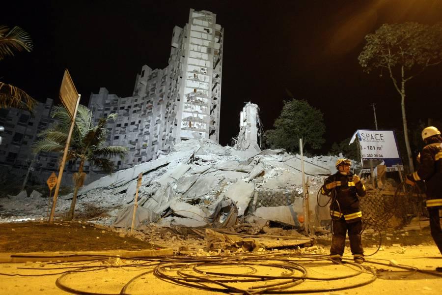 Gobierno investigará  el desplome de edificio