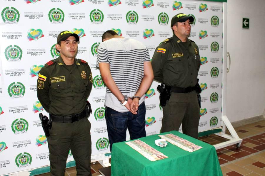 Capturan delincuente que intentó hurtar a un ciudadano con el 'paquete chileno'