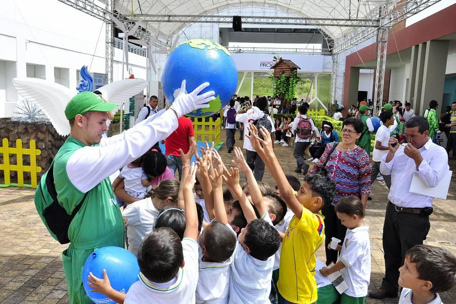 Bucaramanga se convierte desde hoy en la capital mundial del medio ambiente