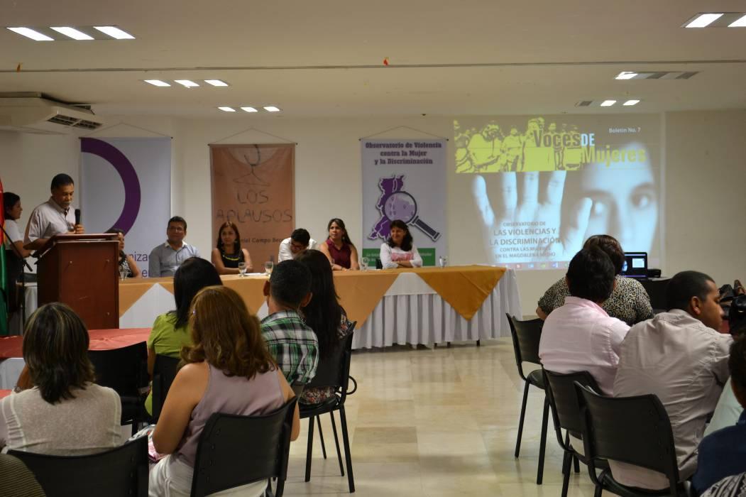 OFP trabaja contra   el maltrato de género