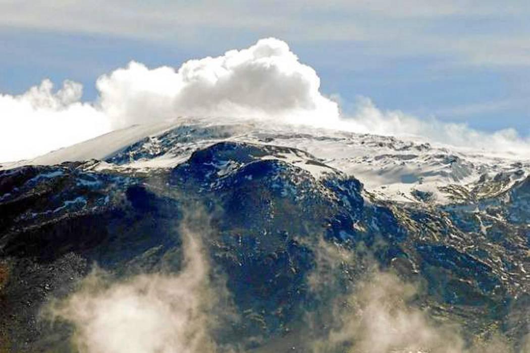 Sismo en el Nevado del Ruiz