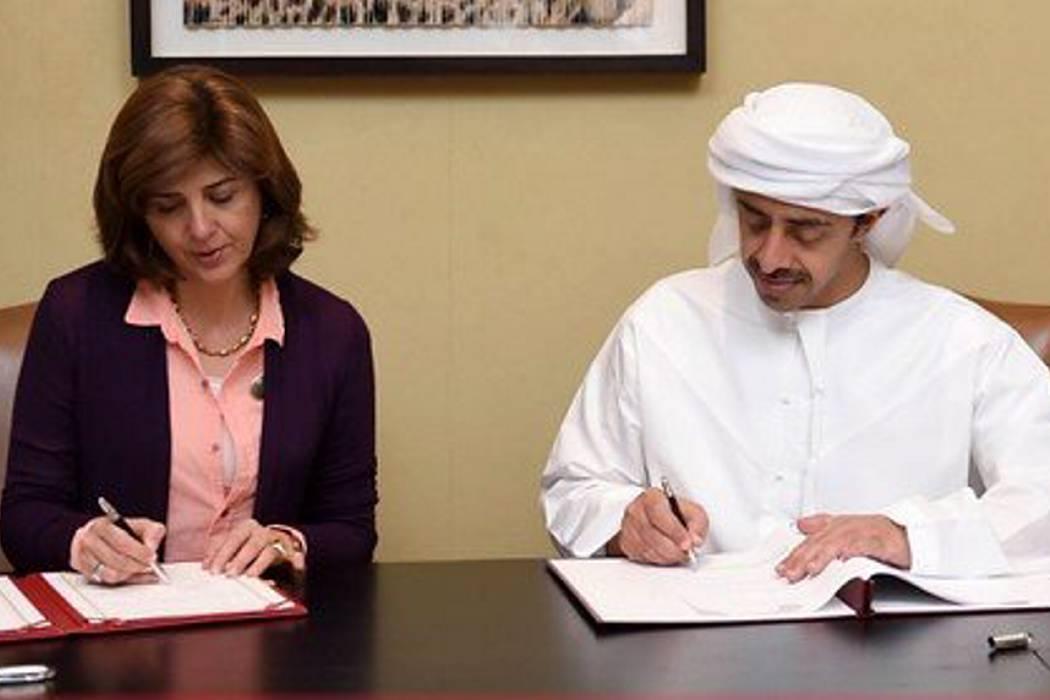 Colombia firmó convenios con los Emiratos Árabes