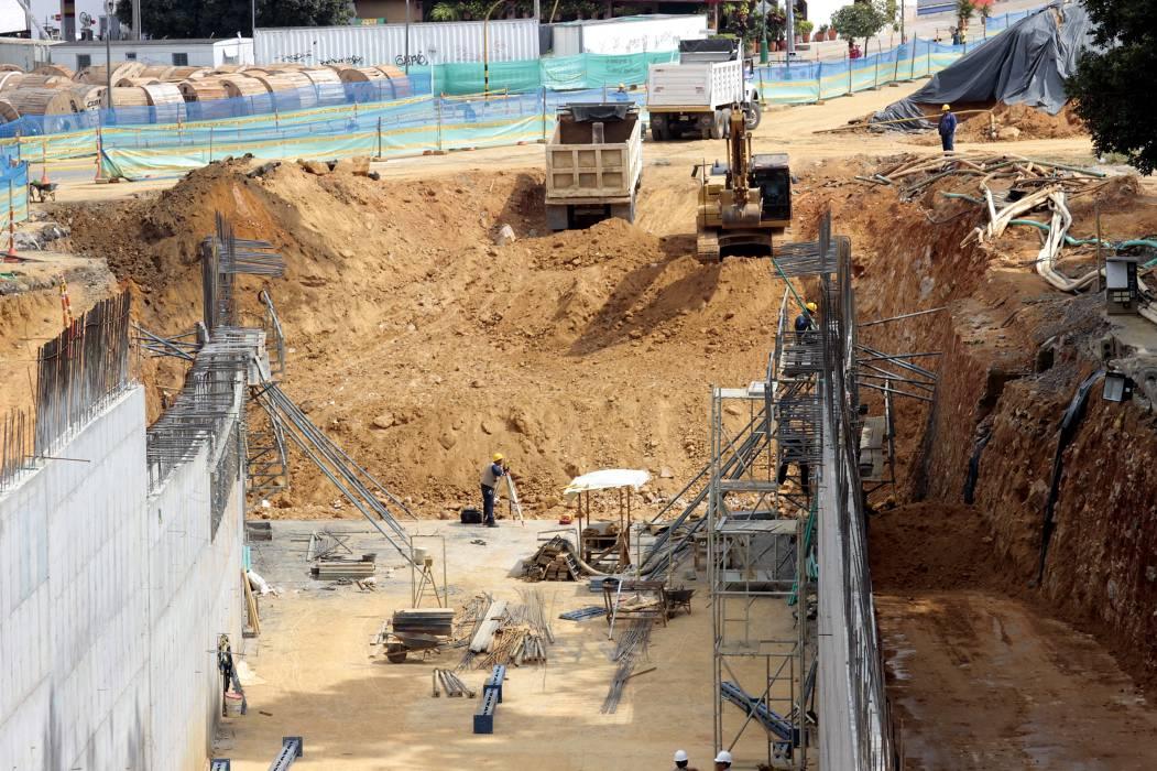 Evacúan La Normal por fuga de gas en obras del Mesón de Los Búcaros