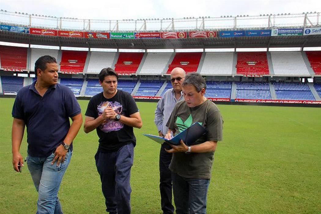 Avanzada argentina visitó el metropolitano de Barranquilla