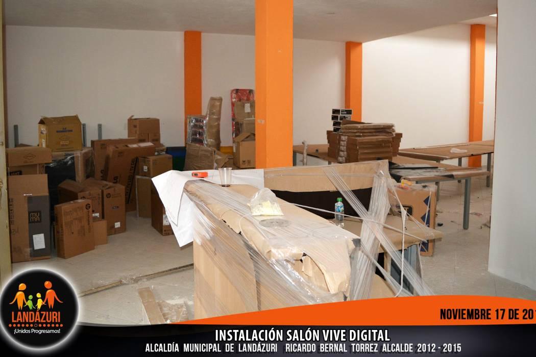 """Avanza adecuación del salón """"Vive Digital"""""""