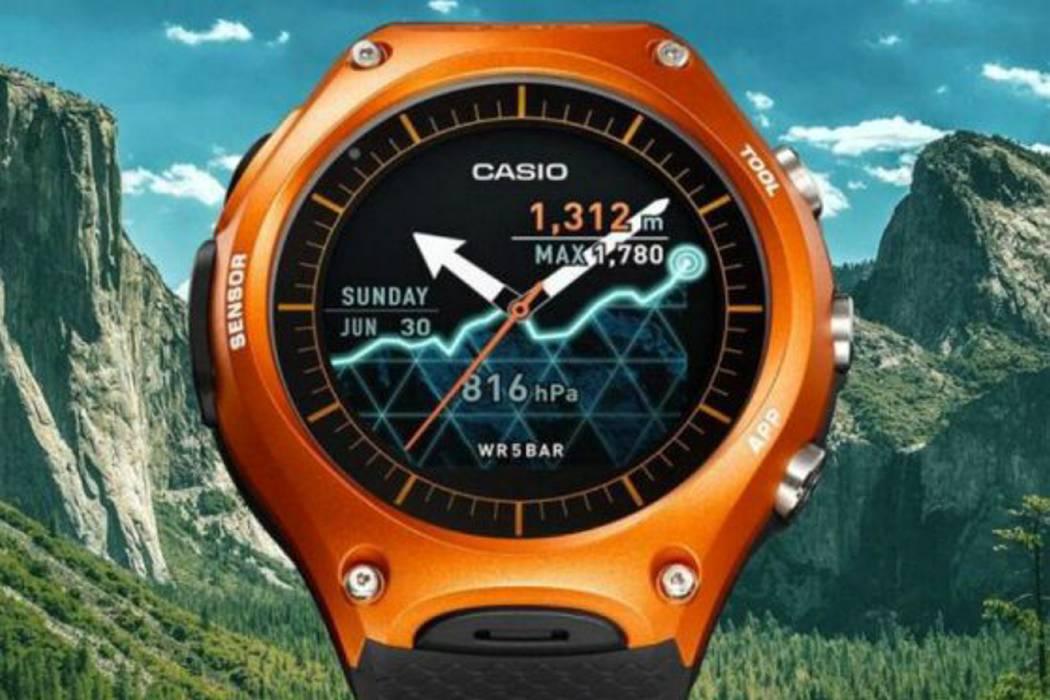 El fabricante de relojes Casio presenta su primer