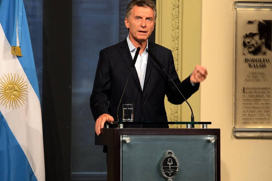 Macri dice que fuerzas de seguridad argentinas están infiltradas por mafias