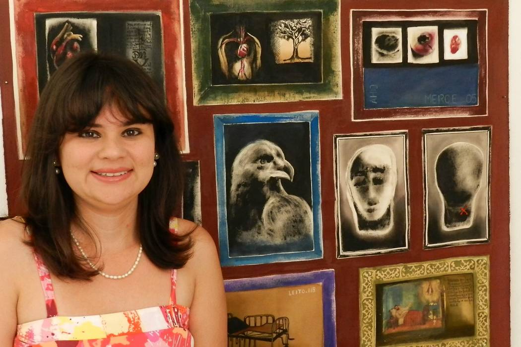 """Exposición de """"arte joven""""  de varios artistas brasileños"""