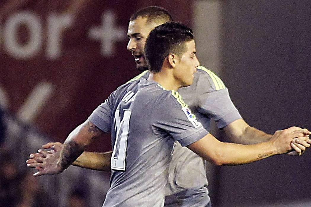 Con James de titular, el Real Madrid empata y se queda a 4 puntos del liderato