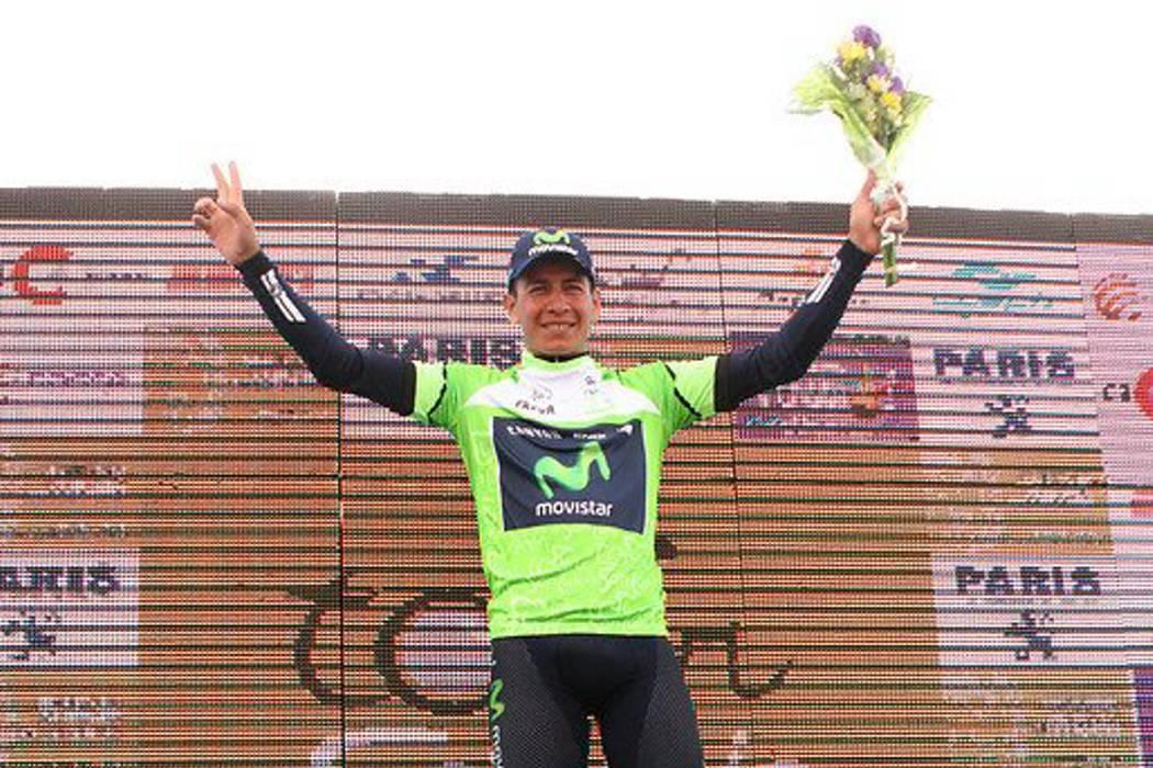 Dayer Quintana, campeón del Tour de San Luis, le sigue los pasos a su hermano