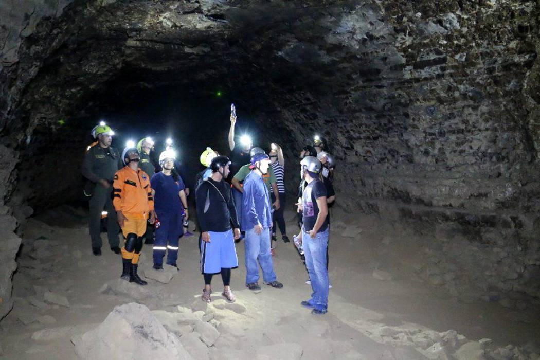 Aumentarán seguridad en la Cueva La Antigua de San Gil
