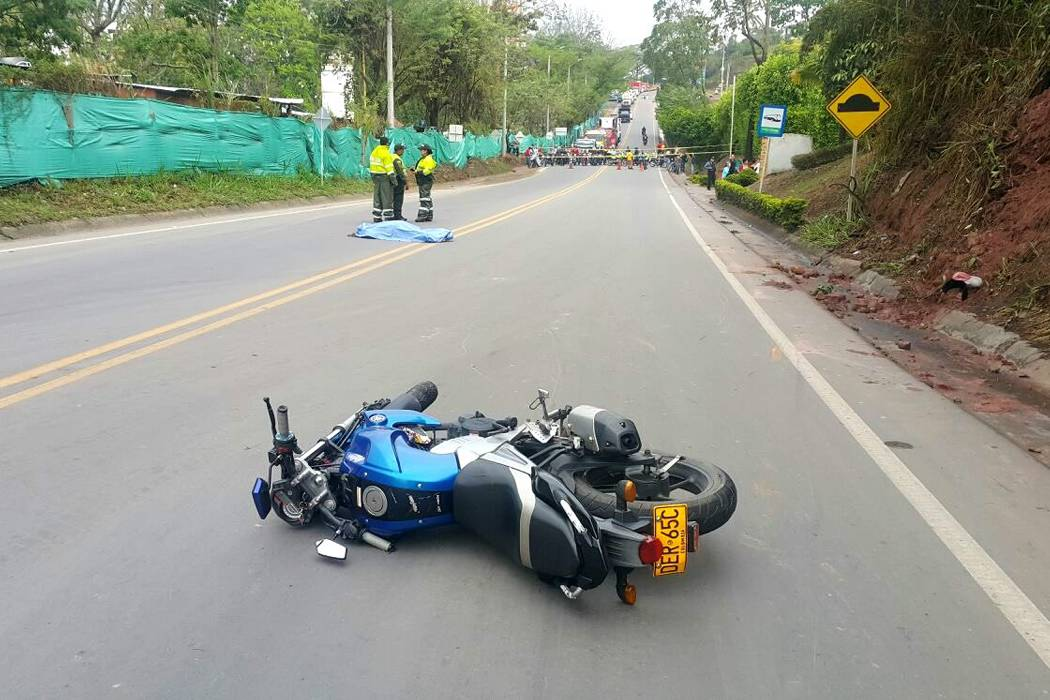 Hubo dos muertos por accidentes en moto en el área metropolitana