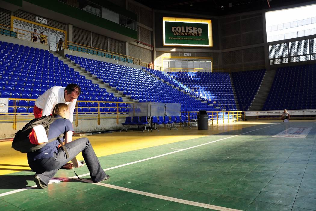 Fifa inspeccionó escenarios para el Mundial de Fútbol Sala en Bucaramanga