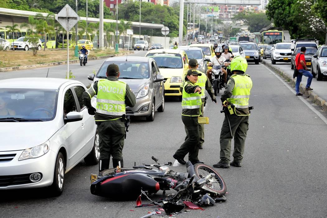 Van 15 muertos en accidentes de tránsito en Bucaramanga este año