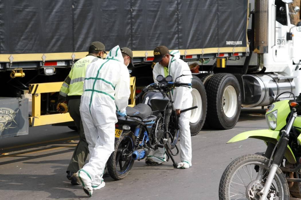 Imprudencia dejó seis motociclistas muertos en 72 horas en Bucaramanga