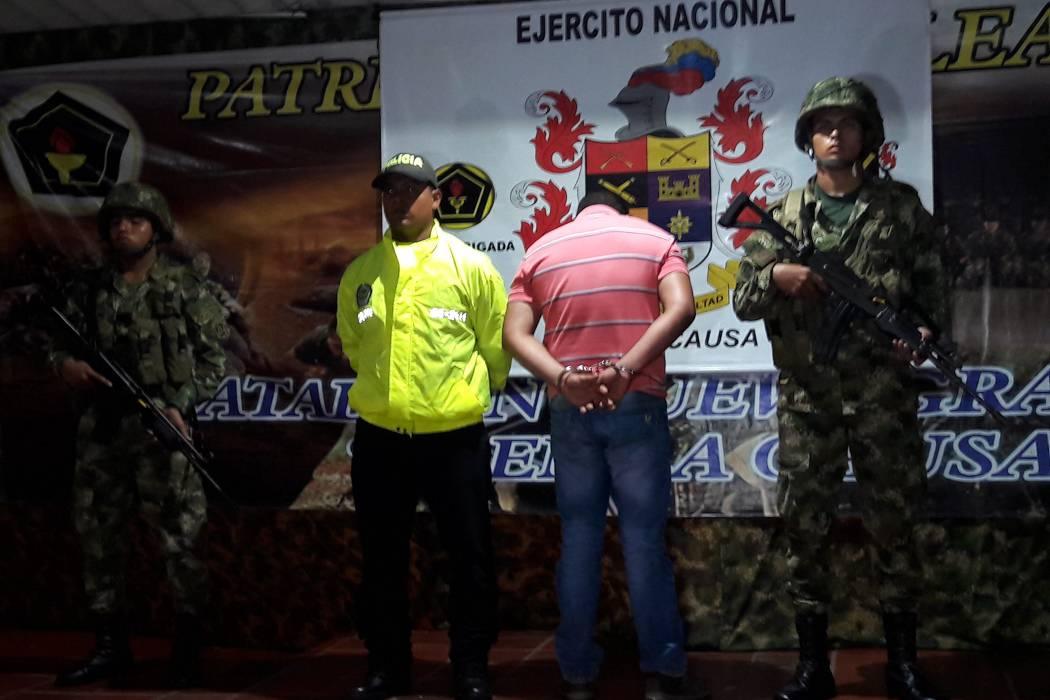 Alias 'El Médico' fue capturado el fin de semana en San Pablo