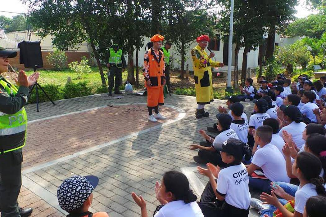 Inició programa Cívica Infantil y juvenil