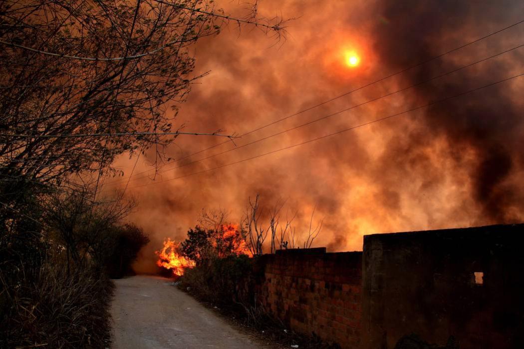Alerta roja por incendios en 85 municipios de 87 en Santander