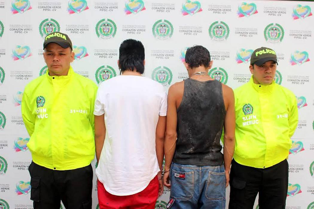 Capturan a 'Cheyo' y 'Yumanyi' por tentativa de homicidio en Floridablanca