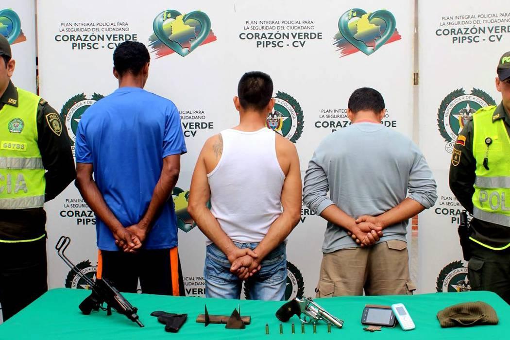 Capturan a 'Los Platinos', una banda dedicada al hurto en vías nacionales