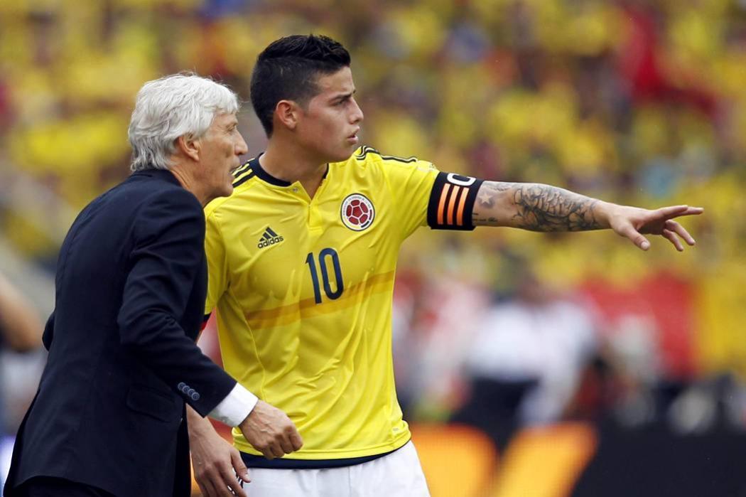 Selección Colombia sigue octava en la clasificación Fifa