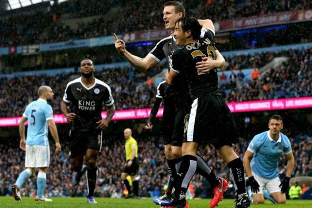 Leicester venció a Manchester City y se consolida en Inglaterra