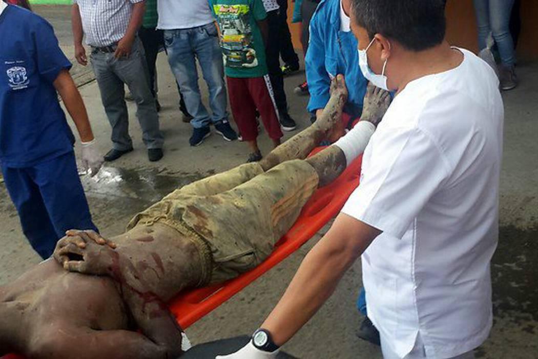 Derrumbe en mina de oro en El Tambo, Cauca, dejó dos muertos y seis heridos