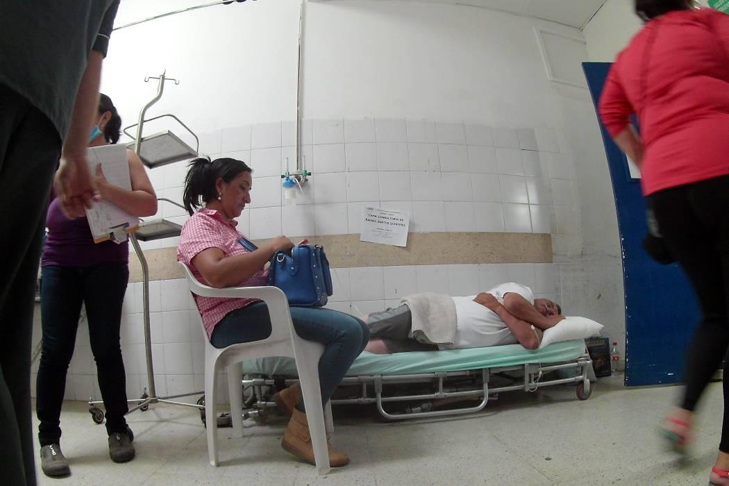 Para los enfermos en Santander no hay suficientes camas