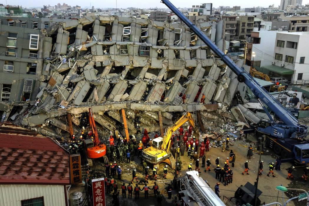 Sigue el rescate de 120 desaparecidos en Taiwán