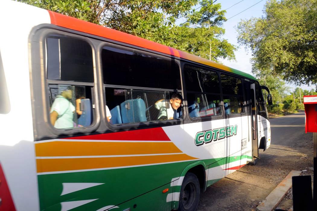 Desde hoy transporte escolar en Barranca sí es financiado por la Alcaldía