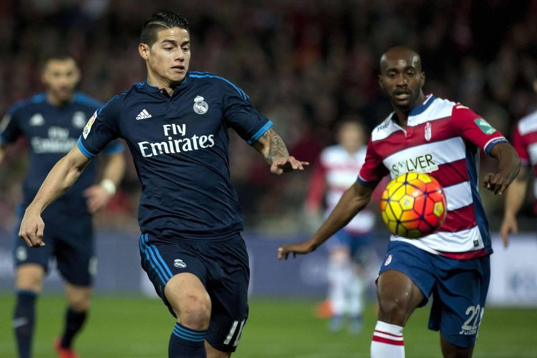 James continuaría siendo titular en el Real Madrid