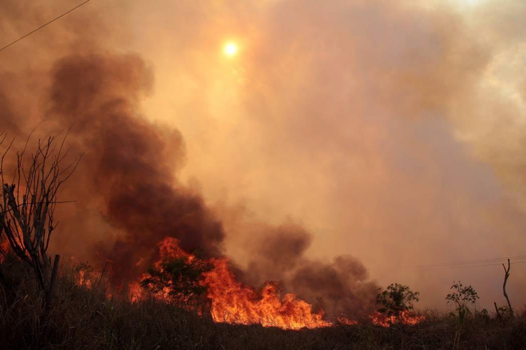 Hay riesgo de incendio en rellenos sanitarios
