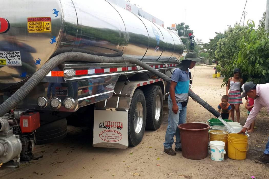 Hay desabastecimiento de agua en Sabana de Torres