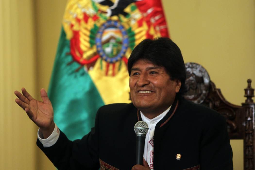 Gobierno denuncia amenaza de muerte a presidente Evo Morales