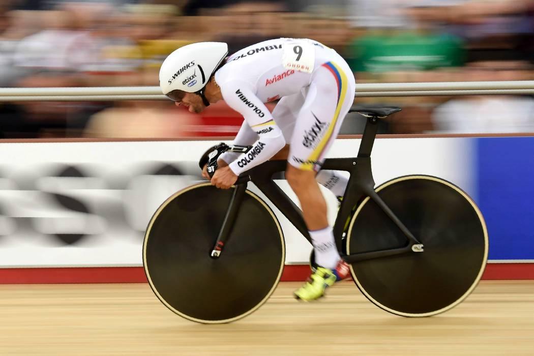 Colombiano Fernando Gaviria, campeón mundial de ciclismo en Londres