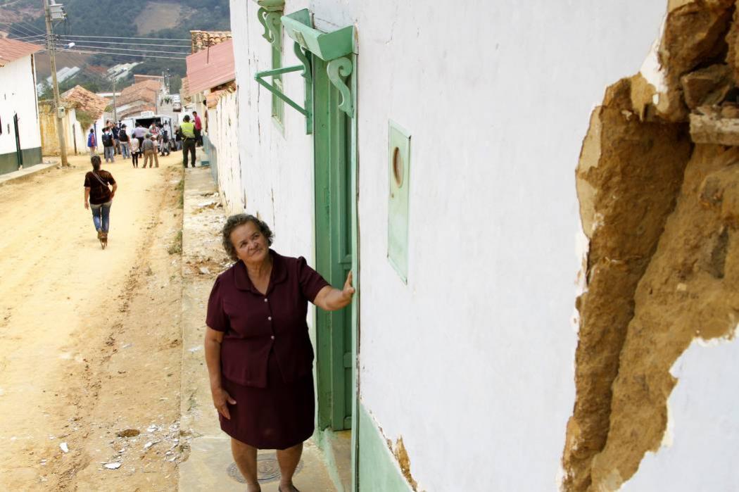 Así recordaron los bumangueses el temblor de hace un año
